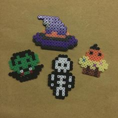 Halloween perler beads by  hns.land
