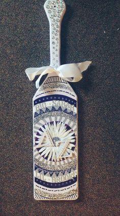 Aztec Print Sorority Paddle by SratCrafts1 on Etsy