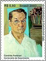 Brazil - Selo alusivo ao grande pintor brasileiro Cândido Portinari