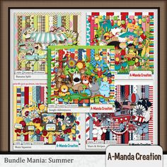 Bundle Mania: Summer   #digiscrap #theStudio