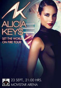 Alicia Keys - 23 de septiembre - Movistar Arena