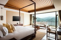 The room with majestic view at Alila Anji