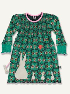 Bonnie dress with smock - aw15flowers