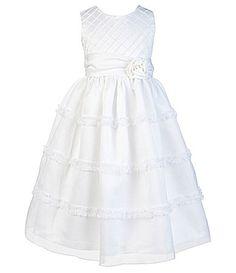 Jayne Copeland 2T6X Sleeveless Scoopneck Dress #Dillards