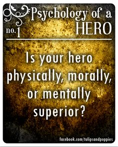 Psychology of a Hero - No. 1 #writersblock Click the photo to follow the story of two sisters who are also writing partners