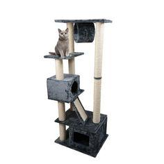 Arbre à chat et griffoir - Arbre à chat Grey Square pour chats