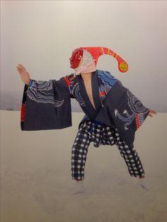 Tengu, Biccharu, Kusotare and Shishi - Yokainoshima (Isle of Monsters) by Charles Fréger