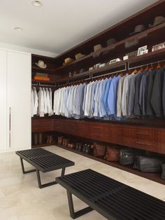 I like the dresser drawers in the closet. It eliminates the need for it in the bedroom.