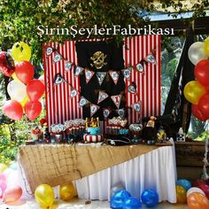 Pirate Party Birthday Party Ideas | Photo 1 of 7 | Catch My Party