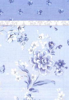 Pillowcase Kit - Blue Floral