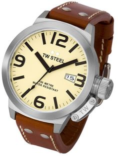 TW Steel Watches - 50MM Canteen Mens Watch $312