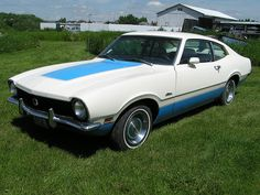 1972 Ford Maverick Sprint. Maverick. Find parts for this classic beauty at http://restorationpartssource.com/store/