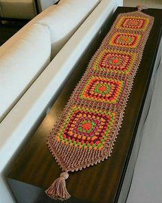 Rate It ( 1 To 10 ) Crochetbag - Crochet Tutorial - Best Knitting Crochet Flower Patterns, Crochet Motif, Crochet Designs, Crochet Doilies, Crochet Flowers, Crochet Granny, Doily Rug, Crochet Decoration, Crochet Home Decor