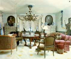 Jorge Elias French Interiors, Beautiful Interiors, Jorge Elias, Sitting Rooms, Commercial Interiors, French Style, Drapery, Designers, Boards