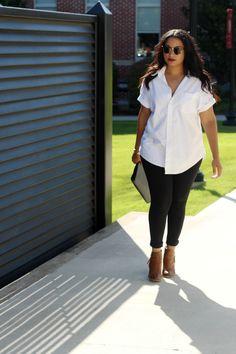 white shirt black pants lulu linden   lululinden.com