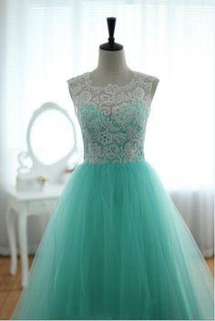 ...Lace Dress Long...