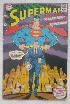 Superman #201 (Nov 1967, DC) Good 2.0