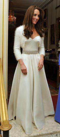 Vestido de novia kate middleton 5 years