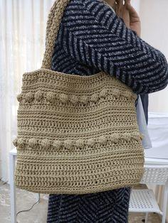 Πλεκτή τσάντα.Σεμινάριο Πλεκτές τσάντες με Βελονάκι