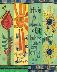 Life is a Balance Art Pole - Home Decoration Diy Garden Projects, Art Projects, Garden Ideas, Round Robin, Peace Pole, Garden Poles, Balance Art, Pole Art, Beautiful Artwork