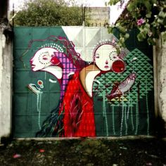 Street art by Nick Alive (Brazil)