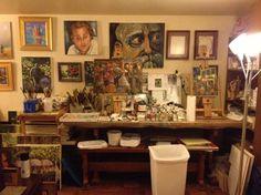 """Artist Chris Lucas' """"little paradise"""" on HufPo article on artist's studios"""