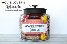 Movie Lover's Gift in a Jar