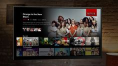 #Netflix redesigns interface with a Brand New Netflix Experience On TVs