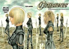 Claymore  Manga is also very good!