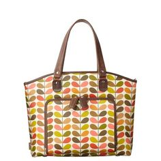 Orla Kiely For Apple Multi Stem Print Shoulder Bag 19