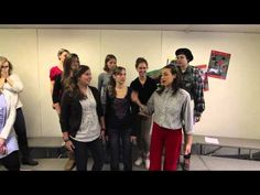 HOW TO TEACH A CHOIR TO SING... ( Imagine >>> how great they would sound.... without all of HER help ?)  Funny!