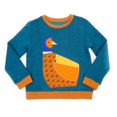 Lily-Balou sweater wannes sweat petrol