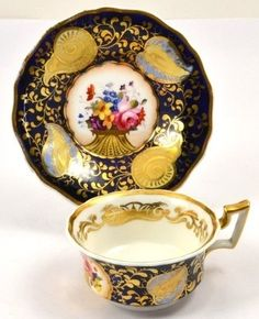A Victorian Ridgeway hand painted Cup and Saucer   .....................................Please save this pin.   ............................................................. Click on this link!.. http://www.ebay.com/usr/prestige_online
