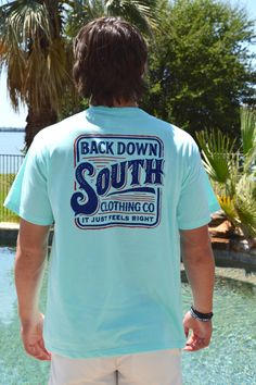 Back Down South Short Sleeve Tee- Vibes