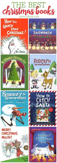 The BEST Christmas Kids Books!! We love wrapping up the books to open and read each day in December!