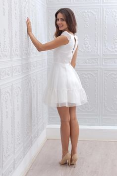 ideas for bridal brunch outfit bridesmaid rehearsal dress Wedding Outfits For Women, Civil Wedding Dresses, Short Dress Wedding, 15 Dresses, Pretty Dresses, Wedding Rehearsal Dress, Brunch Outfit, Shower Dresses, Outfit Trends