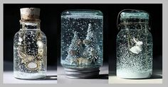 How to make your own Snow Globe! | LUUUX this one actually has directions