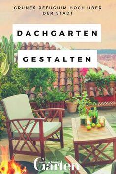 Ein Dachgarten über Den Häusern Der Stadt Ist Ein Ganz Besonderer Luxus. So  Gestalten Sie