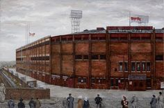 Old Trafford Theatre of Dreams. It's just about the smell, the noise, the excitement, the passion. Manchester United Stadium, Manchester United Old Trafford, Manchester United Football, Manchester City, Soccer Stadium, Football Stadiums, Football Art, Real Salt Lake, European Football