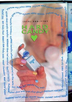 Hard Candy Ad - Seventeen Magazine, August 1996