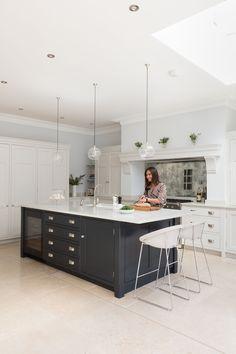 ☆ ☾ ριитєяєѕт : @tashtrbl Open Plan Luxury Kitchen, London
