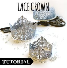 Tutorials   Urban Threads: Unique and Awesome Embroidery Designs Embroidery Applique, Machine Embroidery Designs, Embroidery Ideas, Dollar Store Crafts, Dollar Stores, Freestanding Lace Embroidery, Diy And Crafts, Arts And Crafts, Lace Crowns