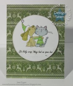 Sisterhood of Snarky Stampers - Y is for. Team S, Christmas Cards, Kids Rugs, Design, Decor, Xmas Cards, Decorating, Kid Friendly Rugs