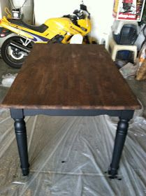 Parenting the Pipsqueak: Our First Refurbishing Project... the Kitchen Table!