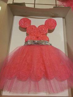Princess Dress Birthday Cake! @Sherry S Johnson. I could make Mia/Bailey one!