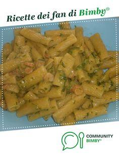 Pasta con zucchine e gamberetti è un ricetta creata dall'utente LASTOFROMANTICS. Questa ricetta Bimby® potrebbe quindi non essere stata testata, la troverai nella categoria Primi piatti su www.ricettario-bimby.it, la Community Bimby®.