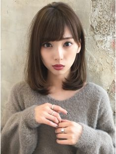 【RUVUA】山田信夫 大人かわいい ワンカールセミディースタイル