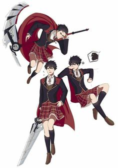 I don't think I'm ever going to get over team STRQ convincing Qrow that the girls uniformed skirt was a kilt and he was supposed to wear it XD