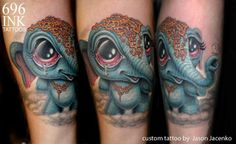 Elephant tat by Jason Jacenko