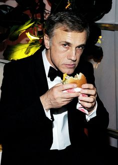 Christoph Waltz at The Weinstein Company & Netflix's 2015 Golden Globes After Party